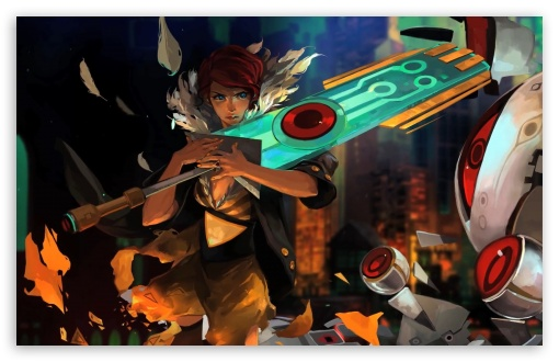Transistor Game 2014 4K HD Desktop Wallpaper For 4K Ultra