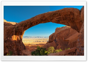 Travel Double O Arch, Utah, Beautiful View Ultra HD Wallpaper for 4K UHD Widescreen desktop, tablet & smartphone