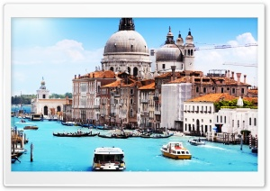 Travel, Grand Canal in Venice, Europe HD Wide Wallpaper for 4K UHD Widescreen desktop & smartphone