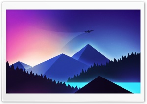 Travel Illustration Ultra HD Wallpaper for 4K UHD Widescreen desktop, tablet & smartphone