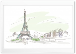 Travel Illustrations 12 HD Wide Wallpaper for Widescreen