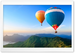 Travel the World, Hot Air Balloons HD Wide Wallpaper for 4K UHD Widescreen desktop & smartphone