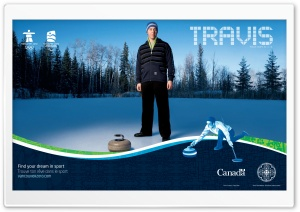 Travis Jones, Curler, Metis HD Wide Wallpaper for Widescreen