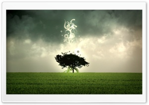 Tree Design HD Wide Wallpaper for Widescreen