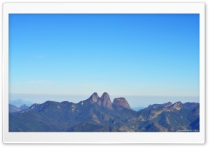 Tres Picos - Nova Friburgo Brazil HD Wide Wallpaper for Widescreen