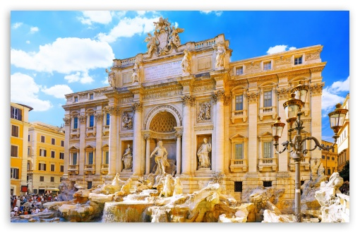 Trevi Fountain HD wallpaper for Wide 16:10 5:3 Widescreen WHXGA WQXGA WUXGA WXGA WGA ; HD 16:9 High Definition WQHD QWXGA 1080p 900p 720p QHD nHD ; UHD 16:9 WQHD QWXGA 1080p 900p 720p QHD nHD ; Standard 4:3 5:4 3:2 Fullscreen UXGA XGA SVGA QSXGA SXGA DVGA HVGA HQVGA devices ( Apple PowerBook G4 iPhone 4 3G 3GS iPod Touch ) ; iPad 1/2/Mini ; Mobile 4:3 5:3 3:2 16:9 5:4 - UXGA XGA SVGA WGA DVGA HVGA HQVGA devices ( Apple PowerBook G4 iPhone 4 3G 3GS iPod Touch ) WQHD QWXGA 1080p 900p 720p QHD nHD QSXGA SXGA ;