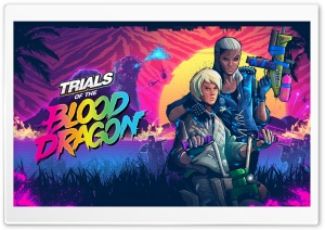 Trials of the Blood Dragon HD Wide Wallpaper for 4K UHD Widescreen desktop & smartphone