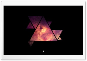 Triangle Galaxy Ultra HD Wallpaper for 4K UHD Widescreen desktop, tablet & smartphone