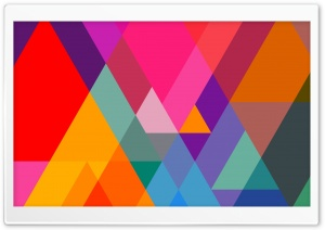 Triangular HD Wide Wallpaper for Widescreen