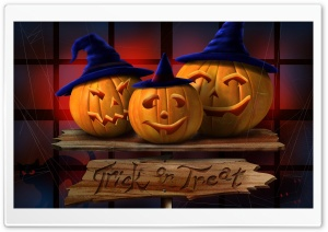 Trick Or Treat HD Wide Wallpaper for 4K UHD Widescreen desktop & smartphone