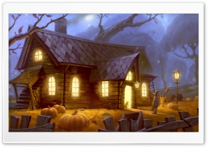 Trick Or Treat Ultra HD Wallpaper for 4K UHD Widescreen desktop, tablet & smartphone