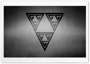 Triforce Symbol HD Wide Wallpaper for Widescreen