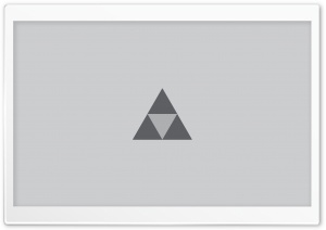 Triforce The Legend of Zelda HD Wide Wallpaper for Widescreen