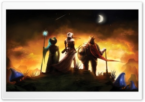 Trine HD Wide Wallpaper for Widescreen