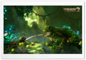 Trine 2   Frog Screenshot HD Wide Wallpaper for Widescreen