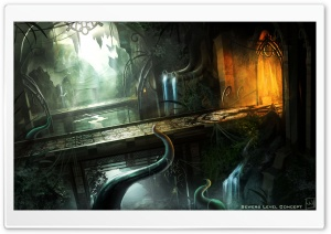 Trine 2   Sewers HD Wide Wallpaper for Widescreen