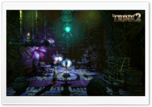 Trine 2   Wizard Screenshot HD Wide Wallpaper for Widescreen