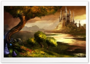 Trine 2 Concept Art HD Wide Wallpaper for Widescreen
