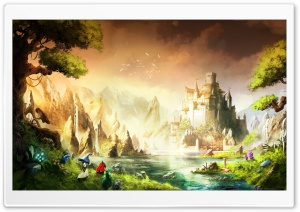 Trine 2 Game HD Wide Wallpaper for Widescreen