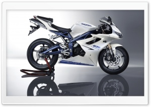 Triumph Daytona 675 Bike HD Wide Wallpaper for Widescreen