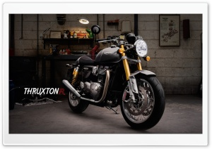 Triumph Thruxton R HD Wide Wallpaper for 4K UHD Widescreen desktop & smartphone
