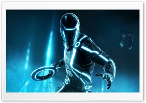 Tron Evolution HD Wide Wallpaper for Widescreen