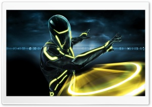 Tron Evolution Game HD Wide Wallpaper for Widescreen