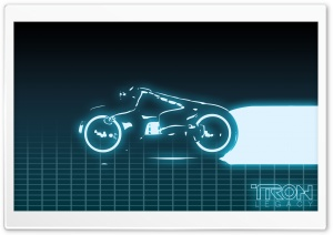 Tron Grid HD Wide Wallpaper for Widescreen