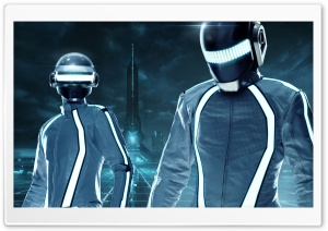 Tron Legacy Daft Punk Ultra HD Wallpaper for 4K UHD Widescreen desktop, tablet & smartphone