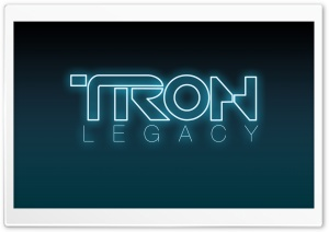 Tron Legacy Logo HD Wide Wallpaper for Widescreen