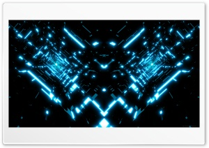 Tron Tunnels HD Wide Wallpaper for Widescreen