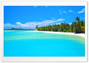 Tropical Bay HD Wide Wallpaper for Widescreen