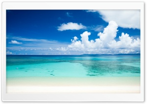 Tropical Beach HD Wide Wallpaper for Widescreen