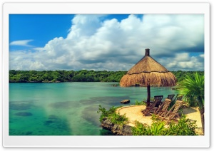 Tropical Coast Beautiful Water HD Wide Wallpaper for Widescreen