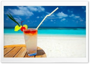 Tropical Cocktail HD Wide Wallpaper for Widescreen