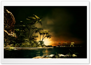 Tropical Island HD Wide Wallpaper for Widescreen
