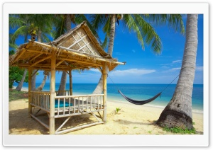 Tropical Resort HD Wide Wallpaper for Widescreen
