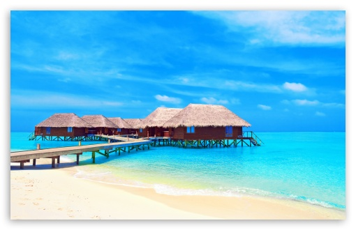 Tropical Water Bungalows HD wallpaper for Wide 16:10 5:3 Widescreen WHXGA WQXGA WUXGA WXGA WGA ; HD 16:9 High Definition WQHD QWXGA 1080p 900p 720p QHD nHD ; Standard 4:3 5:4 3:2 Fullscreen UXGA XGA SVGA QSXGA SXGA DVGA HVGA HQVGA devices ( Apple PowerBook G4 iPhone 4 3G 3GS iPod Touch ) ; Tablet 1:1 ; iPad 1/2/Mini ; Mobile 4:3 5:3 3:2 16:9 5:4 - UXGA XGA SVGA WGA DVGA HVGA HQVGA devices ( Apple PowerBook G4 iPhone 4 3G 3GS iPod Touch ) WQHD QWXGA 1080p 900p 720p QHD nHD QSXGA SXGA ; Dual 16:10 5:3 4:3 5:4 WHXGA WQXGA WUXGA WXGA WGA UXGA XGA SVGA QSXGA SXGA ;