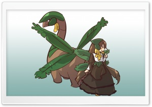 Tropius Pokemon HD Wide Wallpaper for Widescreen