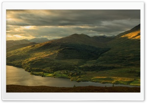 Trossachs National Park HD Wide Wallpaper for 4K UHD Widescreen desktop & smartphone