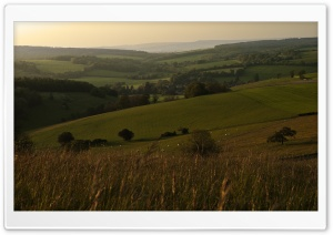 Trundle, St Roche's Hill, Sussex, England, United Kingdom HD Wide Wallpaper for 4K UHD Widescreen desktop & smartphone