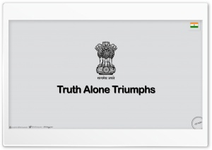 Truth Alone Triumphs_nithinsuren HD Wide Wallpaper for 4K UHD Widescreen desktop & smartphone