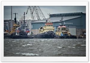 Tugboats HD Wide Wallpaper for 4K UHD Widescreen desktop & smartphone