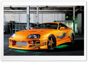 Tuned Toyota Supra HD Wide Wallpaper for Widescreen