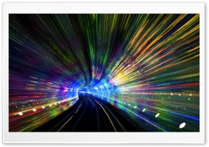 Tunnel In Shanghai HD Wide Wallpaper for 4K UHD Widescreen desktop & smartphone