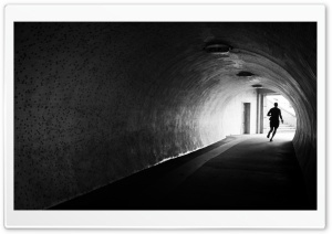 Tunnel Light HD Wide Wallpaper for Widescreen