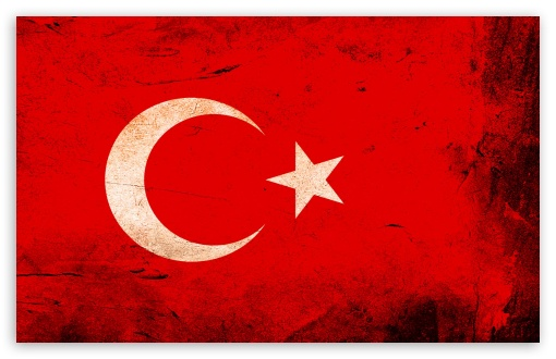 Download Turkey Flag HD Wallpaper