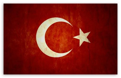 Download Turkish Flag HD Wallpaper