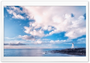 Turnberry Lighthouse   Scotland U.K HD Wide Wallpaper for Widescreen