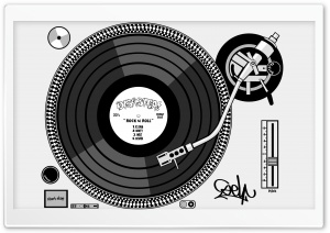 Turntable HD Wide Wallpaper for Widescreen